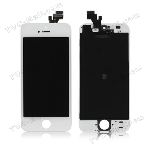 White iphone 5 display replacement parts
