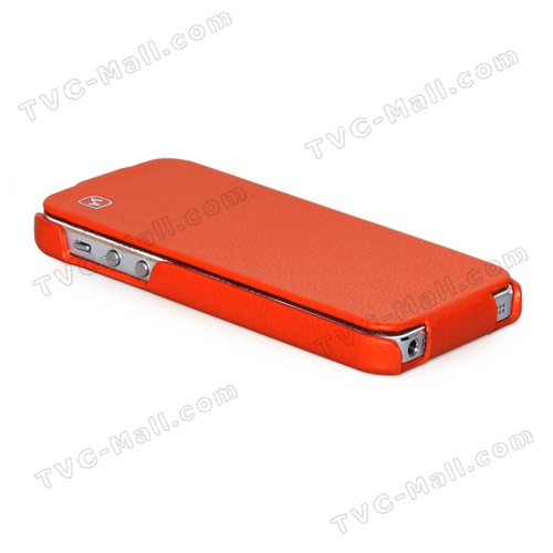 new product a8f92 89808 Stylish iPhone 5 HOCO Duke leather flip case is your cool choice ...