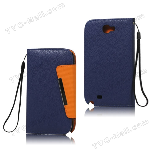 Samsung galaxy note 2 leather wallet case