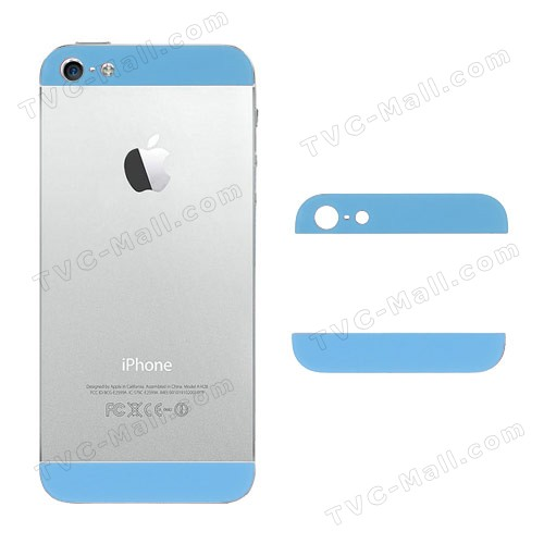 Iphone 5 top and bottom back housing