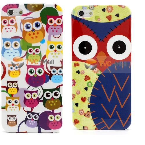Iphone 5 mini owl glossy case