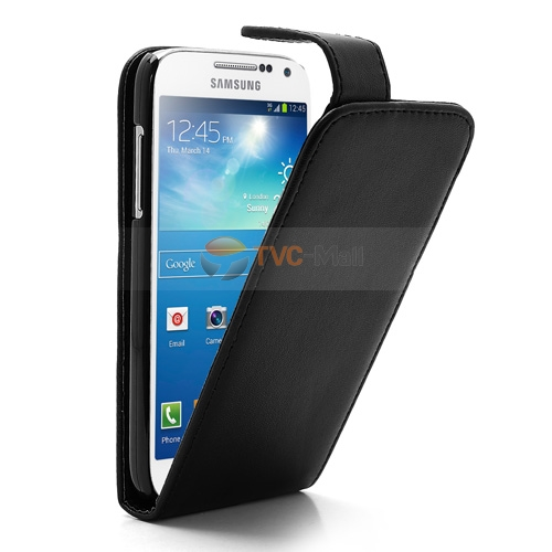 Galaxy s4 mini leather cover