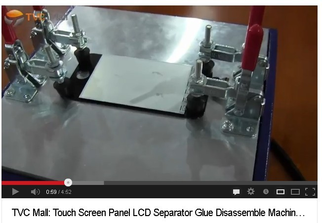 LCD glass separator