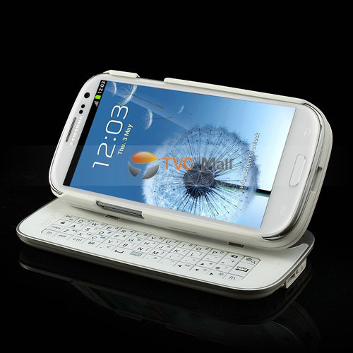 Galaxy s3 sliding keyboard case