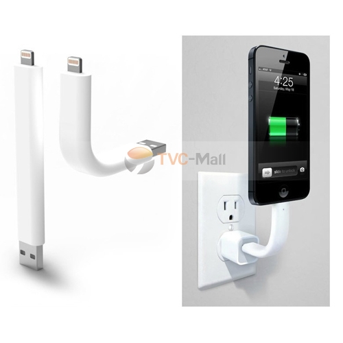 Iphone 5 standing up charging cable
