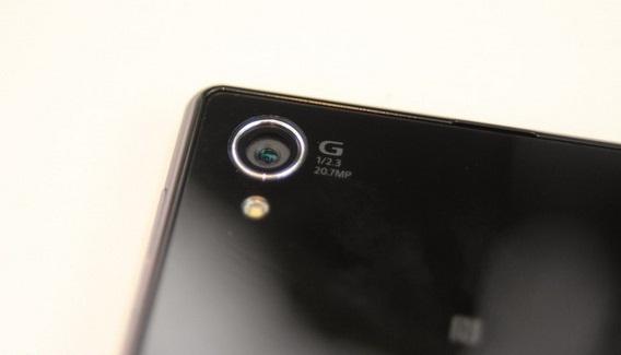Sony xperia z1 G camera