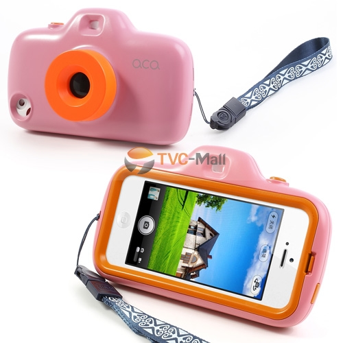 Iphone 5 filter lens camera case