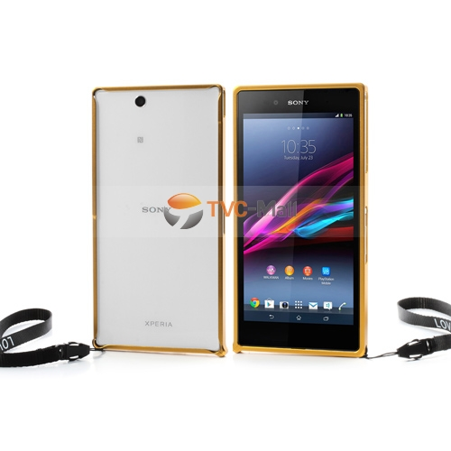 Sony xperia z ultra metal bumper case